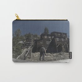 Adventurer ponders if he should go into the Haunted Realm Carry-All Pouch