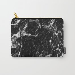 black white marble Carry-All Pouch