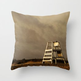 Waiting on the morning to begin Throw Pillow