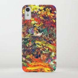 "Claude Monet ""Path under the Rose Trellises, Giverny"", 1922 iPhone Case"