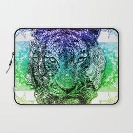 mandala tiger color Laptop Sleeve