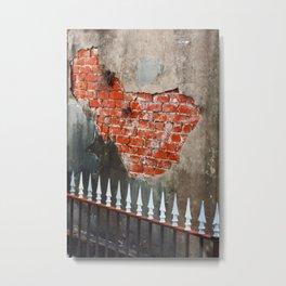 Nola Brick Crypt  Metal Print