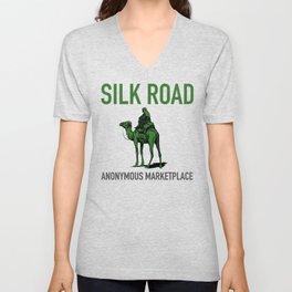 The Silk Road Marketplace  Unisex V-Neck