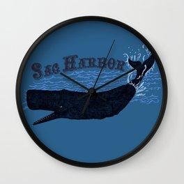 Sag Harbor Whale Wall Clock