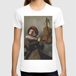 """Judith Leyster """"Boy playing the Flute"""" T-shirt"""