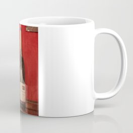 Wine on the Wall Coffee Mug