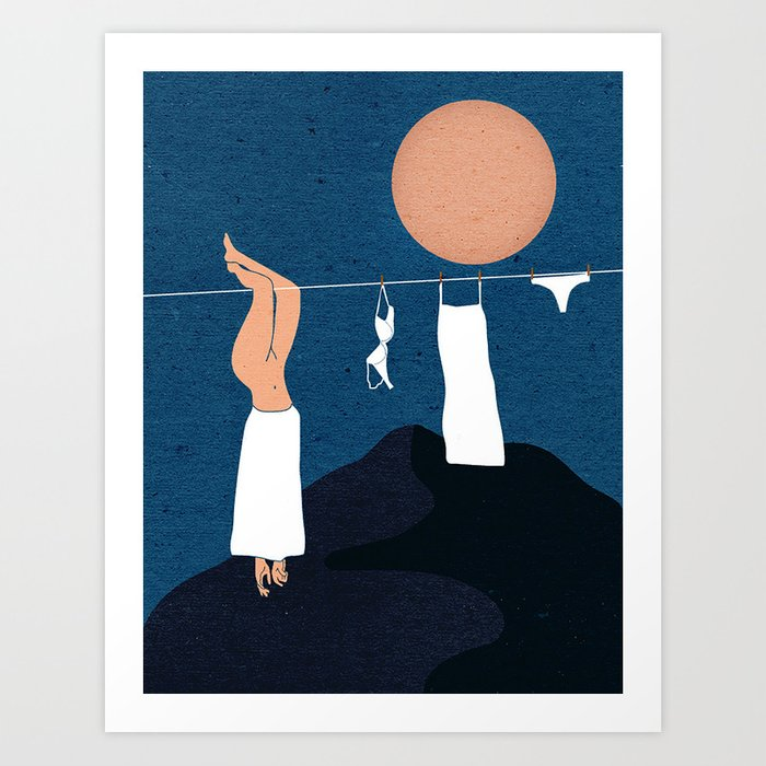 Hang Me Out to Dry Art Print