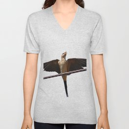 Swallow Song Vector Unisex V-Neck