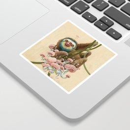 Silly Sloth Sticker