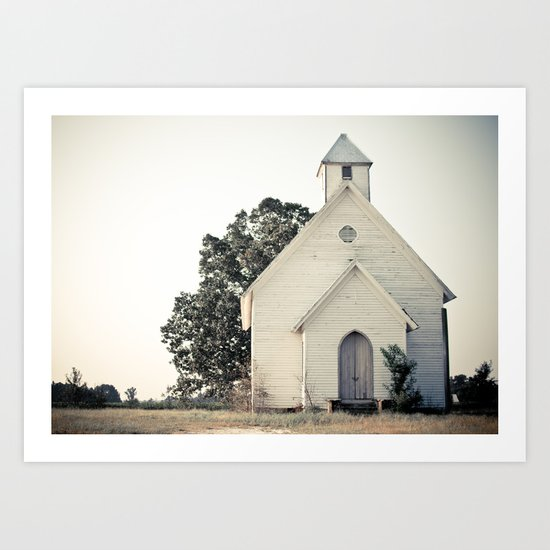 The Chapel Art Print