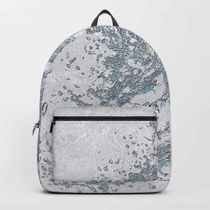 BE WATER MARBLE (abstract) Backpack