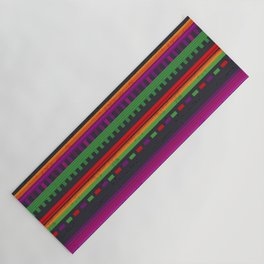 Mexican Pattern Yoga Mat
