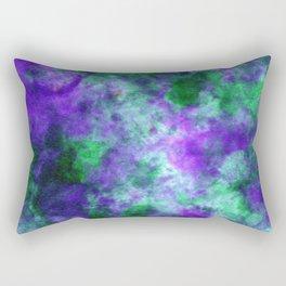 Azurite DyeBlot Rectangular Pillow
