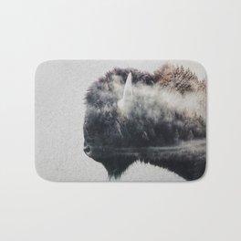 Wild West Bison Bath Mat