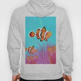 Clown Fish Aquarium Hoody