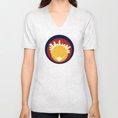 Eolus / Denver / Colorado Unisex V-Neck