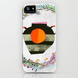 Sun vase iPhone Case