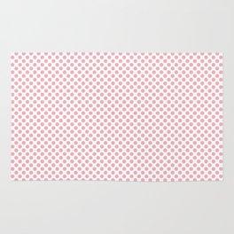 Candy Pink Polka Dots Rug