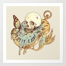 In Time Art Print