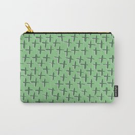 Green++ Abstract Carry-All Pouch