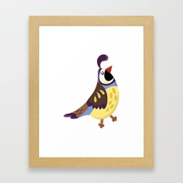Cute Birds Framed Art Print