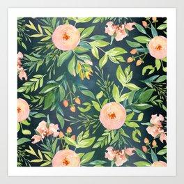 The Night Meadow Art Print
