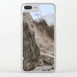 Rocky Dunes Clear iPhone Case