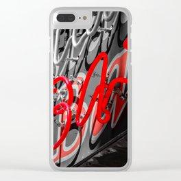 BAR Clear iPhone Case