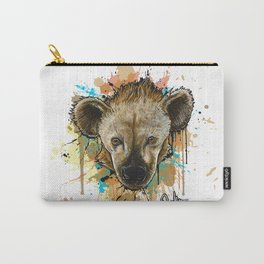 Spotted Hyena Carry-All Pouch