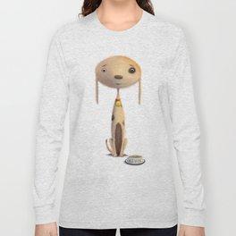 Good Doggie by dana alfonso Long Sleeve T-shirt