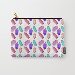 Pastel Crystals Carry-All Pouch