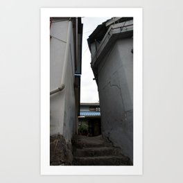 Alley 6 Art Print