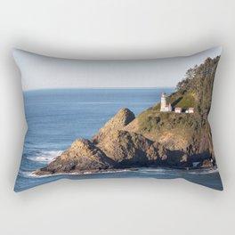 Hecenta Head Lighthouse Rectangular Pillow