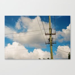 Telegraph Pole Canvas Print