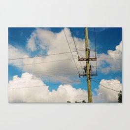 Telegraph Pole Canvas Print