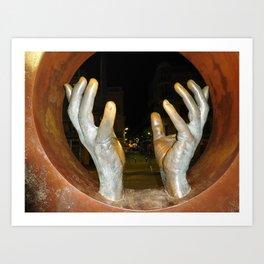 Hands of Spain Art Print