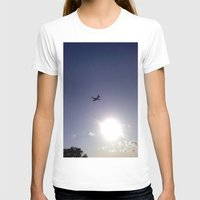 plane T-shirts featuring Plane by Natasha N. Walker