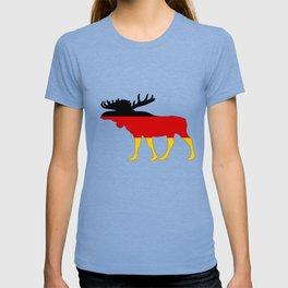 German Flag - Moose T-shirt