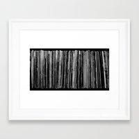 vinyl Framed Art Prints featuring Vinyl by Derek Delacroix
