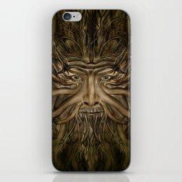 The Green Man iPhone Skin