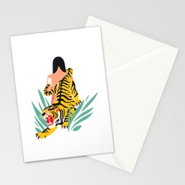 Waking the tiger Stationery Cards