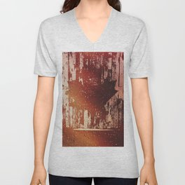 Oh Canada! (Abstract) Unisex V-Neck