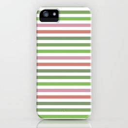 Pink Roses in Anzures 3 Stripes 1H iPhone Case