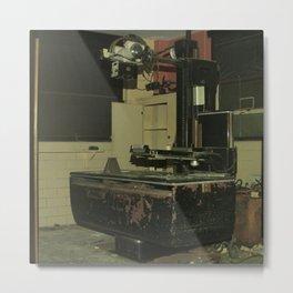 X-Ray Metal Print