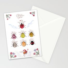 A Guide to the Meaning of a Ladybug Stationery Cards