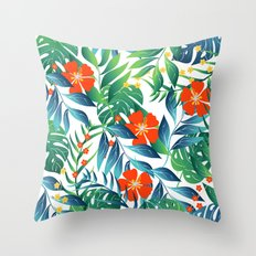 TROPICAL PARADISE 4 Throw Pillow