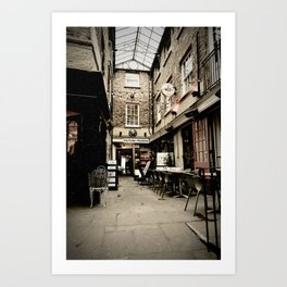 Alley - York 11 Grape Ln Art Print
