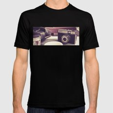 smena Mens Fitted Tee Black SMALL
