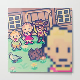 Mother 3 Selfie Metal Print