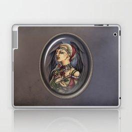 Marooned - Gothic Angel Portrait Laptop & iPad Skin